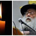 BDE: Rabbi Yehuda Leib Groner, 88, OBM
