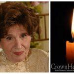 BDE: Mrs. Rivkah Karp, 90, OBM
