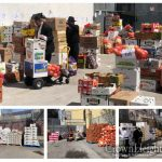 Oholei Torah Teachers Receive Special Food Delivery For Pesach