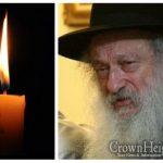 BDE: Rabbi Sholom Eidelman, 83, OBM
