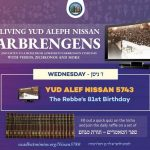Yud Alef Nissan Farbrengens with the Rebbe 5743 the Rebbe's 81st Birthday