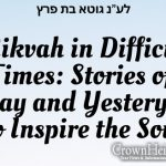 Mikvah in Difficult times: Stories of Today and Yesteryear to Inspire the Soul