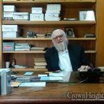Special Shiur As Shiva Concludes For Rabbi Moshe Zaklikovsky OBM