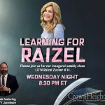 8:30pm: Learning For Raizel Tonight Featuring Rabbi YY Jacobson
