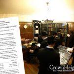 Rebbe's Room To Open Gimmel Tammuz