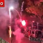 Fireworks Continue Overnight In Crown Heights,