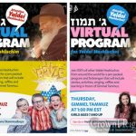 Gimmel Tammuz Virtual Children's Farbrengen