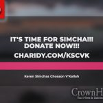 It's Time for Simcha!!! KSCVK 100K Fundraiser