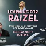 8:00pm: Learning For Raizel With Rabbi Yossi Paltiel