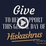 Help Fund the Global Day of Hiskashrus