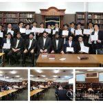 Mivtza Torah Celebrated at Yeshivas Lubavitch Cincinnati