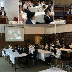 Siyum Harambam in Cincinnati Yeshiva