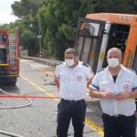 18 Injured in Bus Crash in Northern Israel
