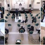 Socially Distant Siyum Harambam Held In France
