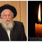 BDE: HaRav Zalman Nechemia Goldberg, 89, OBM
