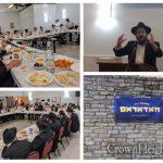 Sholom Mordechai Rubashkin Farbrengs For Cincinnati Yeshiva