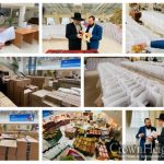 Thousands of Yom Tov Food Baskets Distributed in Moscow