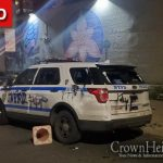 """In """"Solidarity"""" With Philadelphia Rioters, Brooklyn Protesters Damage Police Vehicles and Clash With Police"""