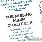 """Missing Minim"" Chol Hamoed Scavenger Hunt In Crown Heights"