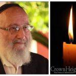 BDE:  Rabbi Yisroel Teitelbaum, 75, OBM
