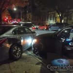 Brand New Vehicle Stolen In Crown Heights, Wrecks On Brooklyn Ave