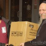 Crown Heights Schools Receive Large Donation of Masks
