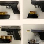 Four Guns Taken Off The Streets of Crown Heights