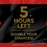 5 Hours Left to Double Your Chances at Ten Yad!