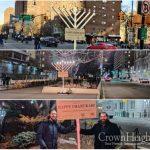 New Menorah for Ari Halberstam Placed at the Brooklyn Bridge