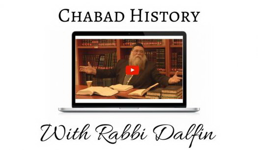 Chabad History With Rabbi Dalfin – The Rebbe Sends A Letter 47 Years Later