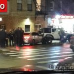NYPD Police Chase Ends In Crown Heights When Car Crashes, Perp Search Under Way