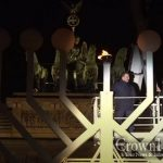 Menorah Lighting at The Brandenburg Gate, Berlin