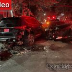 Thursday Night Car Wreck in Crown Heights