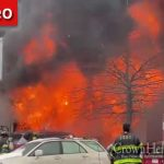 UPDATED 11:50AM: Massive Fire Burning Through Buggy Location On Empire Blvd