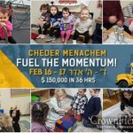 Fuel the Momentum of 200+ Students at Cheder Menachem of Kingston