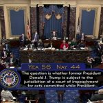 Senate Votes 56-44 to Proceed with Trump Impeachment Trial