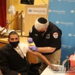 Assemblyman Simcha Eichenstein Joins Forces With Chevra Hatzalah To Encourage Vaccination