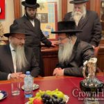 Nadvorna Rebbe Pays Inspiring Visit to Moscow