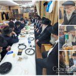 Shain Shul Celebrates Siyum on Maseches Shkolim