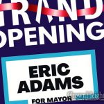 Eric Adams Opens Campaign Office in Crown Heights