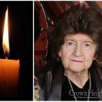 BDE: Rebbetzin Golda Aronow, 89, OBM
