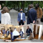 Crown Heights City Council Candidate Tours the Library of Agudas Chassidei Chabad