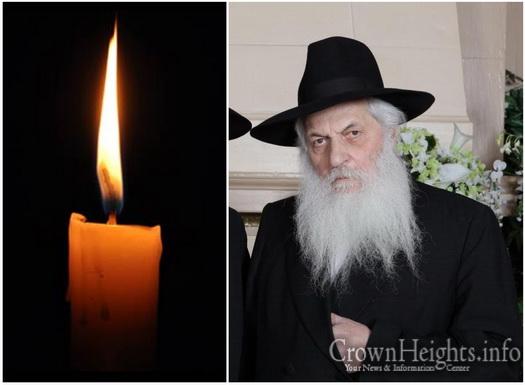BDE: Rabbi Menachem Mendel Aronow, 93, OBM