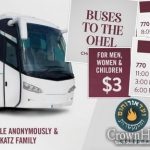 Buses To The Ohel For Chof Ches Sivan