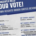 TODAY: United Crown Heights Endorsement List For Today's Primary Election
