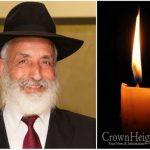 BDE: Rabbi Shalom Elmaleh, 74, OBM