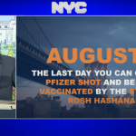 """DeBlasio: """"Get Vaxxed by Monday to be Protected by Rosh Hashanah"""""""