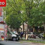 Eastern Parkway Crash Involving A Minvan Into A Tree Causes Injuries