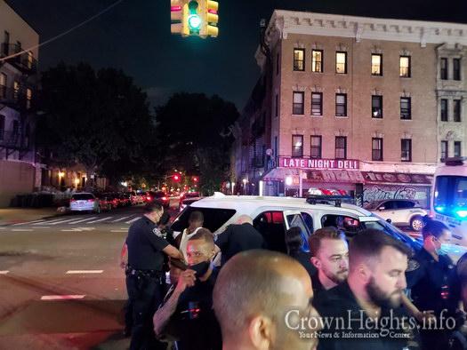 Police Make Chaotic Gun Arrest in Crown Heights