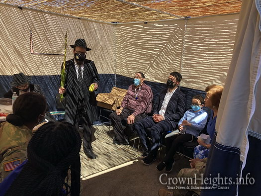 A Sukkah at the Aberdeen Proving Ground